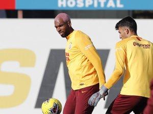 Galatasaray'da Ryan Babel takımla çalıştı