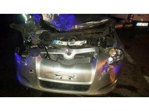 Alkollü sürücü kazaya neden oldu: 1'i polis 6 yaralı