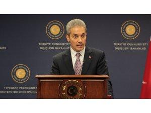 Dışişleri Sözcüsü Aksoy'dan ABD'ye kınama