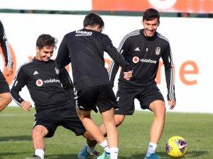 Beşiktaş'ta derbi hazırlıkları sürüyor