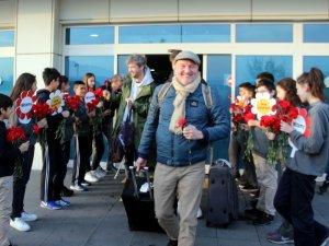 170 Polonyalı turist Erciyes'e geldi