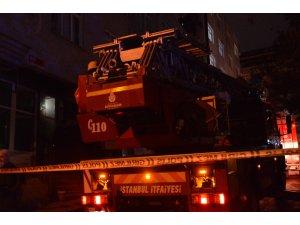 Elektrik panosundan çıkan yangın paniğe neden oldu