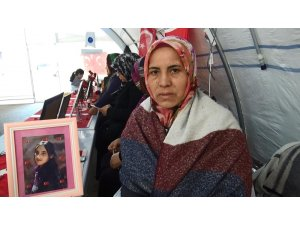 HDP il binası önünde 110 gündür evlat nöbeti tutan anneden dağdakilere çağrı