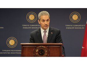 Dışişleri Sözcüsü Aksoy'ndan Batı Şeria ve Gazze açıklaması