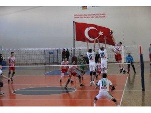 TVF Erkekler 1. Lig: Solhanspor: 3 - Ziraat Bankası: 0