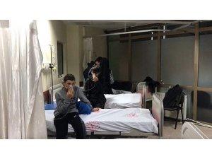 Eğitimde sıkılan biber gazı, yurttaki öğrencileri hastanelik etti