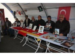 HDP önündeki ailelerin evlat nöbeti 111'inci gününde