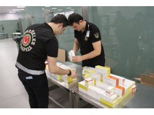 İstanbul Havalimanı'nda kaçak tütün ürünlerine geçit yok