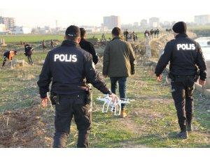 Sırra kadem basan çift drone destekli operasyonla bulundu