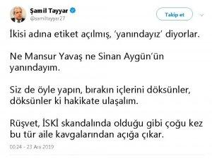 25 milyon liralık rüşvet krizine Şamil Tayyar yorumu