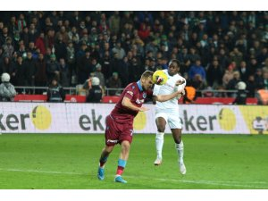Süper Lig: Konyaspor: 0 - Trabzonspor: 1 (Maç sonucu)