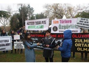 İBB önündeki fayton eylemi 6. gününde
