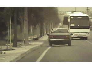 Drift atan sürücüye aracının değerinde ceza