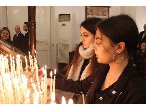 İskenderun Rum Ortodoks Kilisesi'nde Noel ayini
