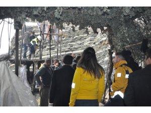 Şırnak'taki göçükte arama kurtarma çalışmaları devam ediyor