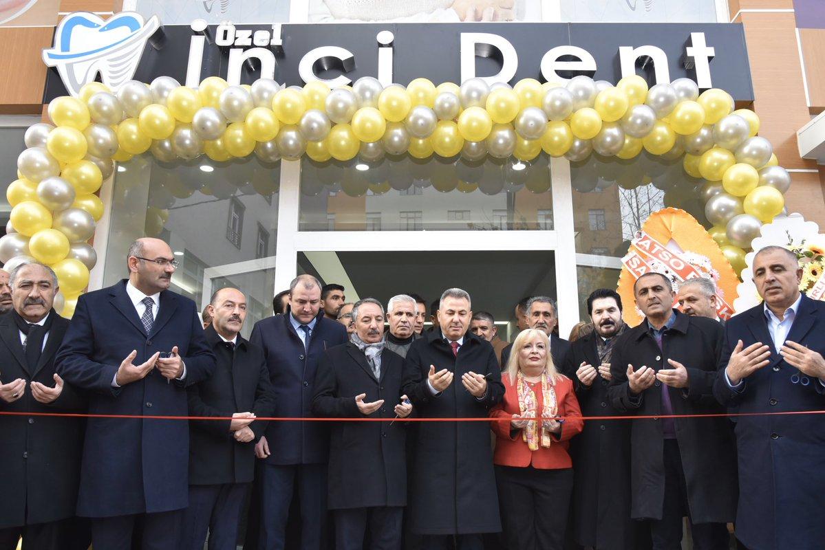 Ağrı'da Özel İnciDent Ağız ve Diş Sağlığı Merkezi açıldı