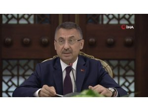 """Cumhurbaşkanı Yardımcısı Oktay'dan """"Kanal İstanbul"""" açıklaması"""
