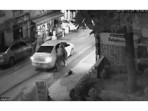 Fatih'te hırsız dehşeti: O anlar kamerada