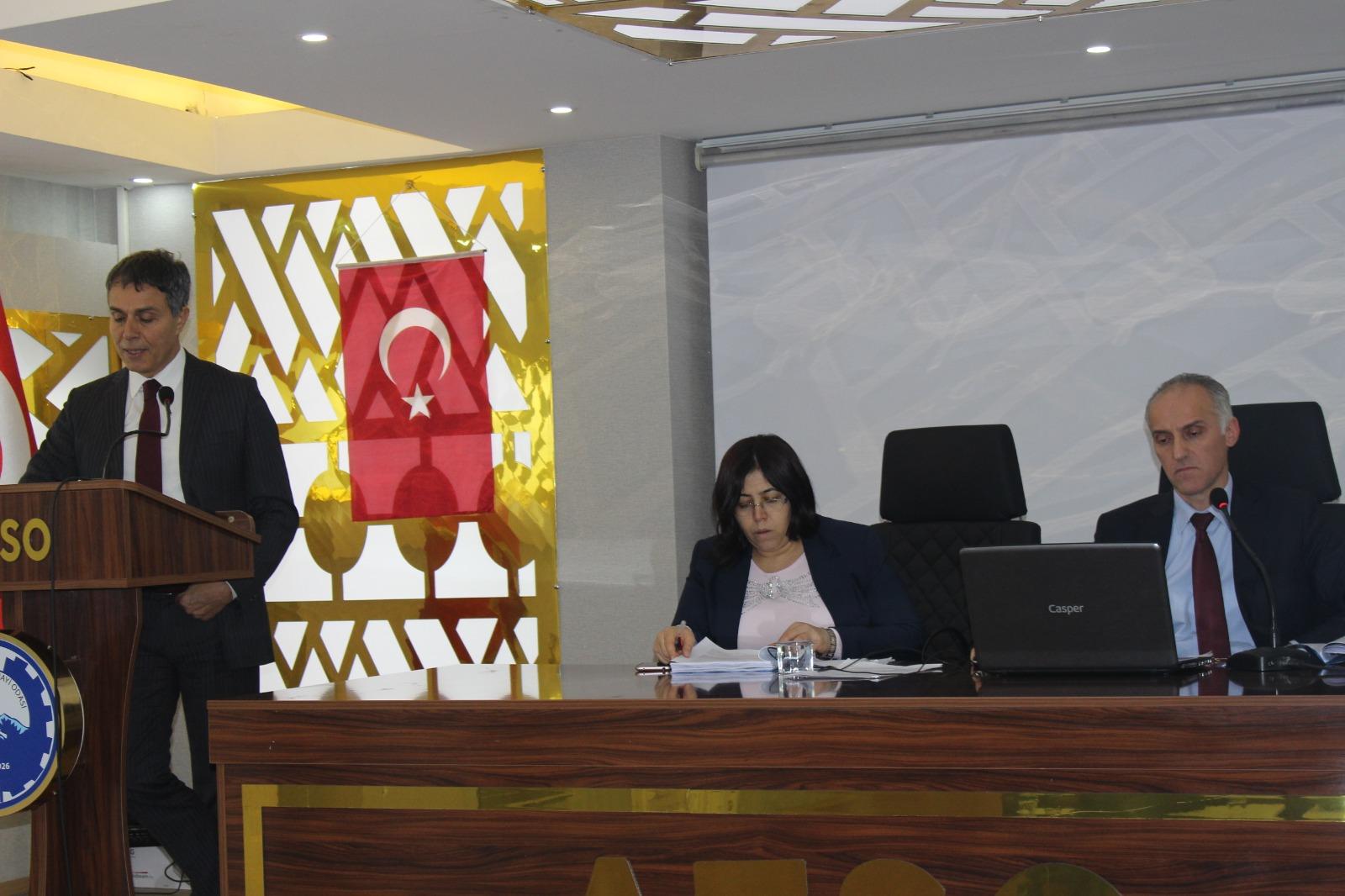 Ağrı'da e-belge bilgilendirme toplantısı yapıldı