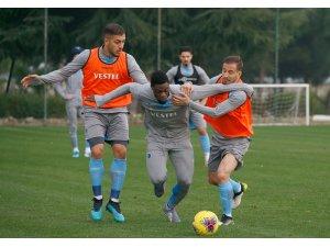 Trabzonspor, İstikbal Mobilya Kayserispor maçı hazırlıklarını sürdürdü