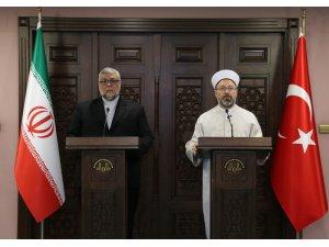 Erbaş ve Türkman, İslam dünyasının sorunları için bir araya geldi