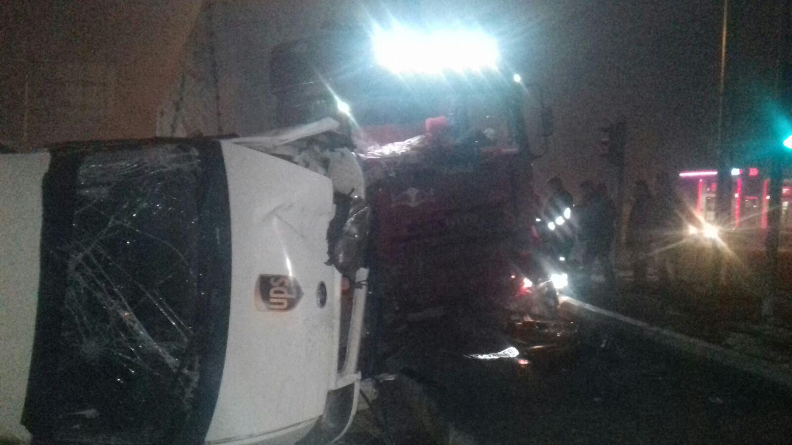 Ağrı'da feci kaza: 1 yaralı