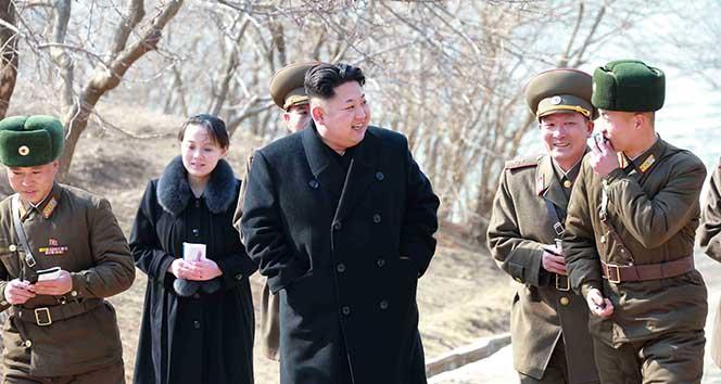 Kim Yong'un kardeşi Kore olimpiyatlarında