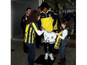 Fenerbahçe kafilesi Kayseri'de