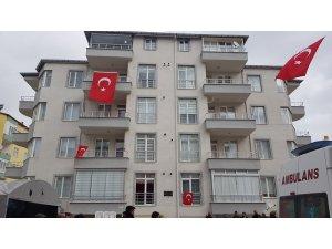 Şehit ateşi Kayseri'ye düştü