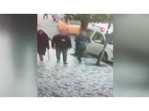 Kendine 'polis' süsü veren gaspçı yakalandı