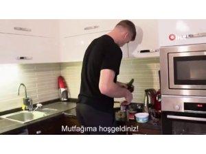 Alexander Sörloth mutfağa girdi