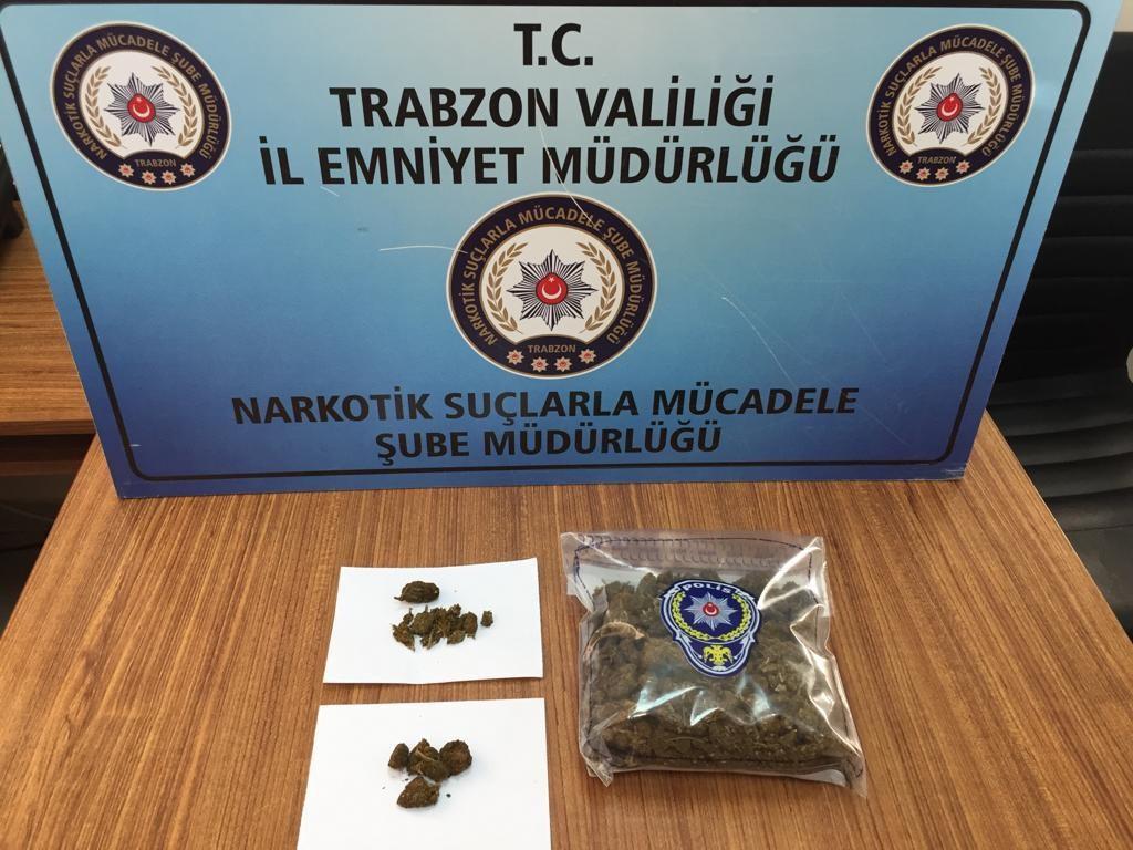 Ağrı'dan giriş yapan tır Trabzon'da yakayı ele verdi