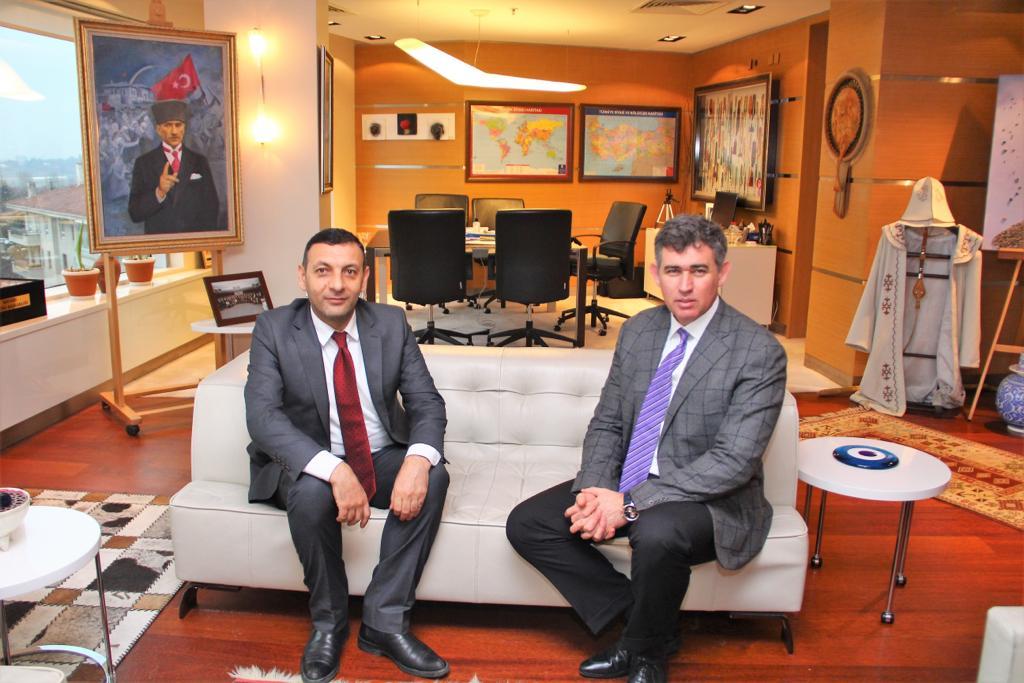 Ağrı Barosu Başkanı'ndan Feyzioğlu'na Ziyaret
