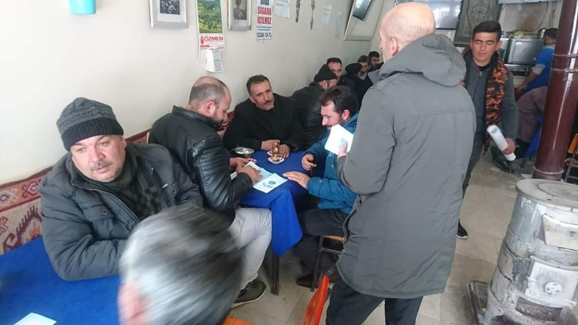 Tutak'ta 'Sigara Bırakma Günü' etkinliği