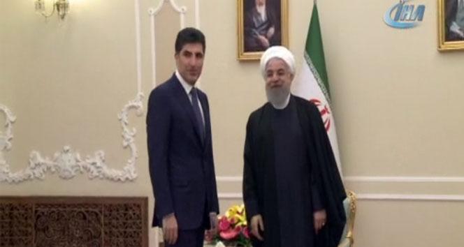 Barzani'den Ruhani'ye ziyaret