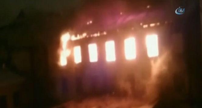 Rusya'da yangın