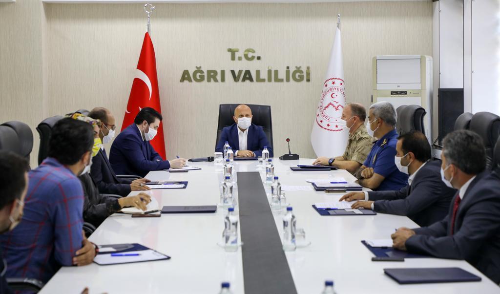 Ağrı'da İl Spor Güvenlik Kurulu Toplantısı
