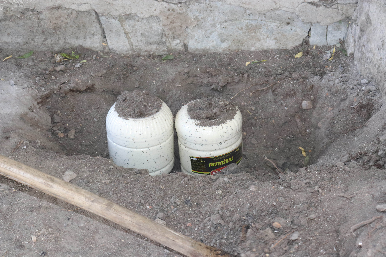 Ağrı'da peynirler toprağa gömülüyor