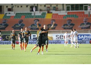 Aytemiz Alanyaspor'dan Hatayspor'a gol yağmuru