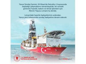 """Bakan Dönmez: """"Yavuz yeni lokasyonda sondaj faaliyetine devam edecek"""""""