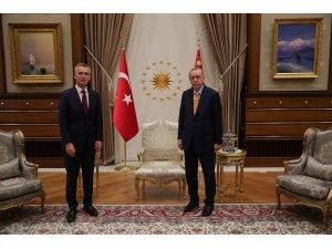 Cumhurbaşkanı Erdoğan'ın Stoltenberg ile görüşmesi sona erdi
