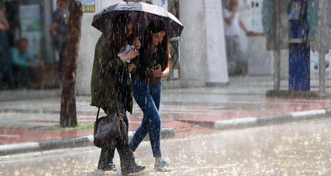 Meteoroloji'den Ağrı için sağanak yağış uyarısı