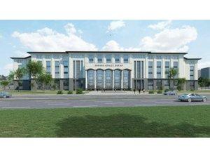 Ankara Yeni Adalet Sarayı Projesi'nde Avan proje aşaması tamamlandı