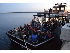 Çanakkale'de 144 düzensiz göçmen yakalandı