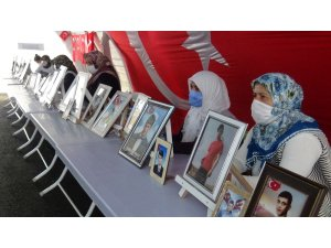 HDP önündeki ailelerin evlat nöbeti 398'inci gününde