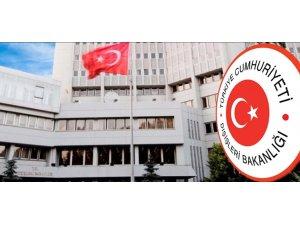 Dışişleri Bakanlığından, Avrupa Komisyonu 2020 Türkiye Raporu'na sert tepki