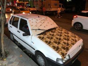 Meteoroloji uyardı, İstanbullular araçlarını dolu öncesi korumaya aldı