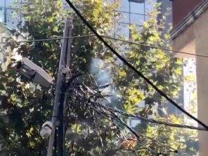 İstanbul'da korku dolu anlar kamerada