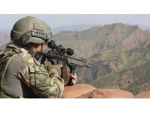 MİT VE TSK'dan Kuzey Irak Gare'de PKK'ya müşterek operasyon