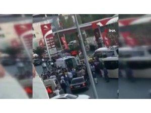 Arnavutköy'de yolun karşısına geçmek isteyen yaşlı adama otomobil çarptı